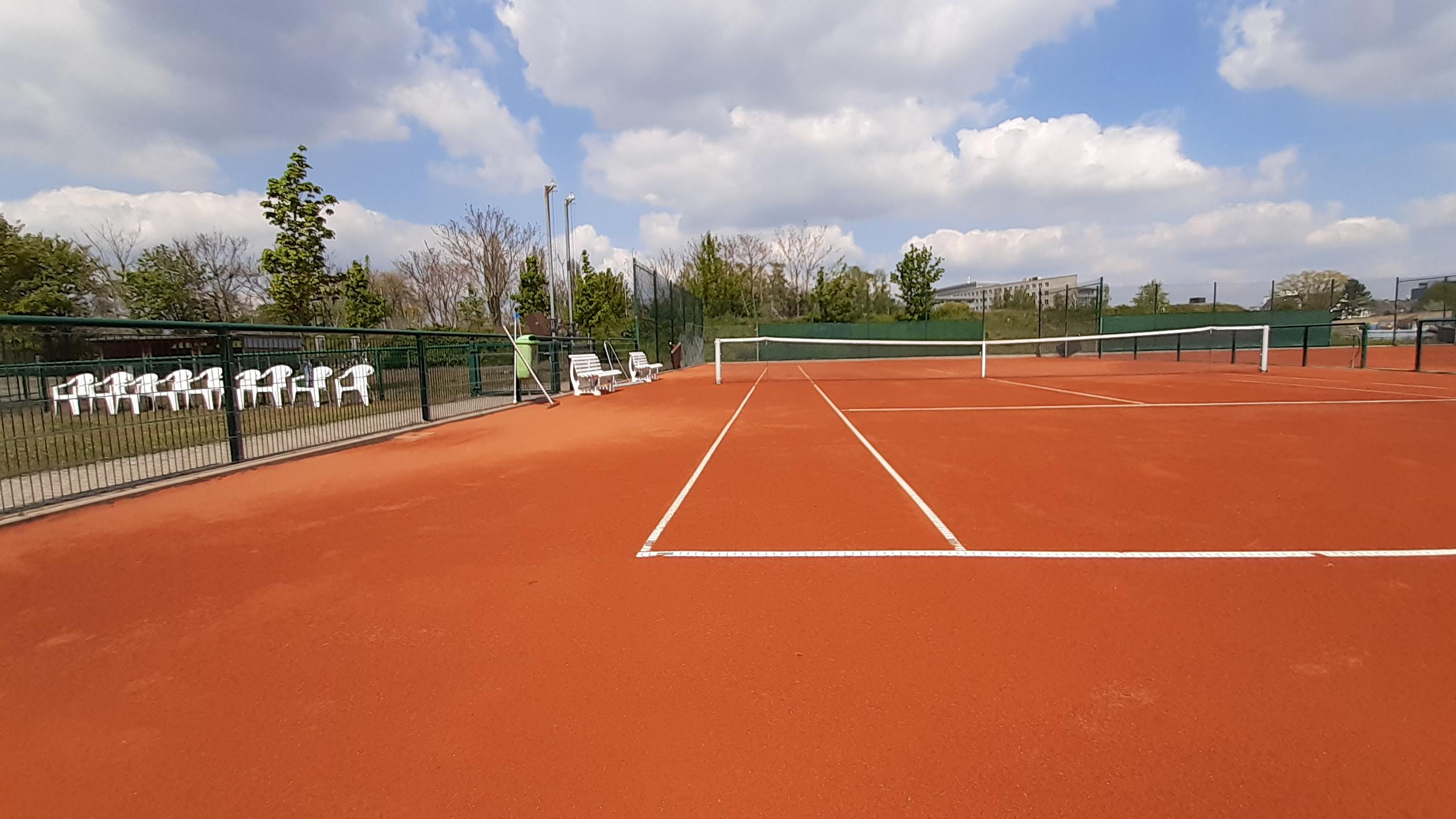 Tennis ab dem 3. Mai