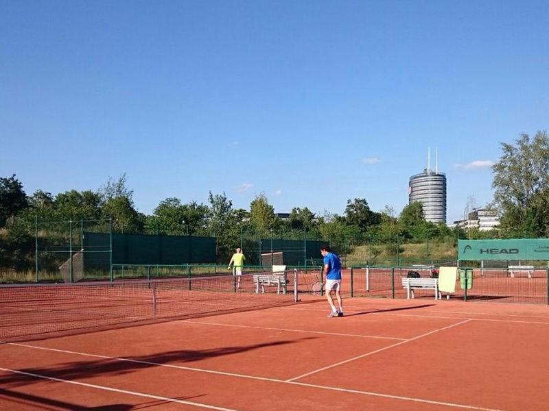 Tennisplatzbelegung am Samstag 20. und Sonntag 21. Juni