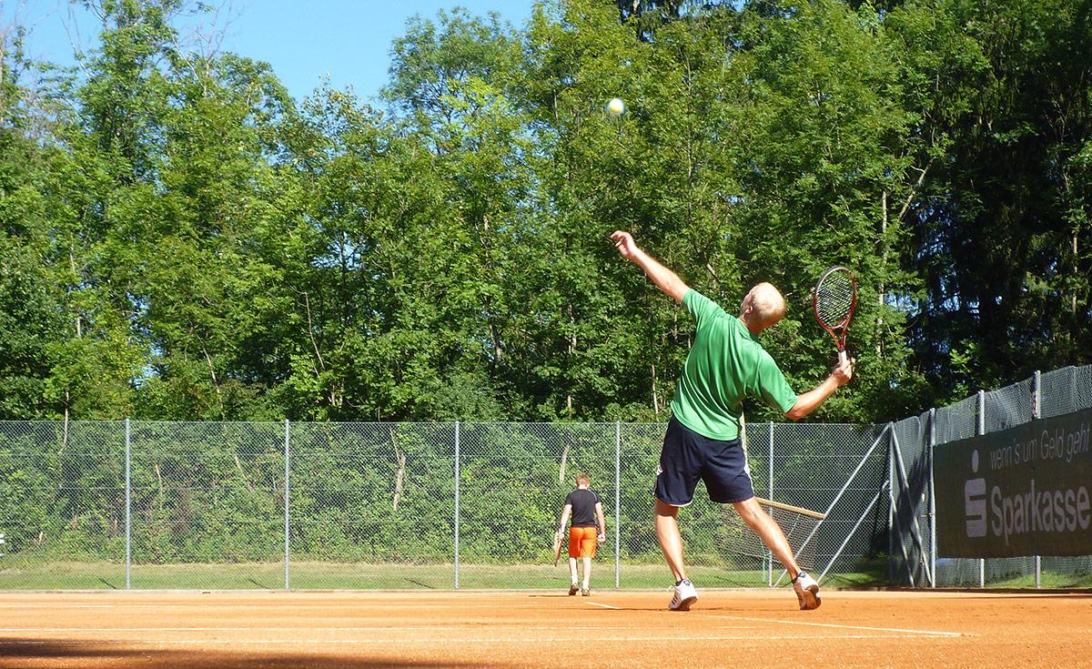 Tennis schnuppern am Samstag 20. Juni