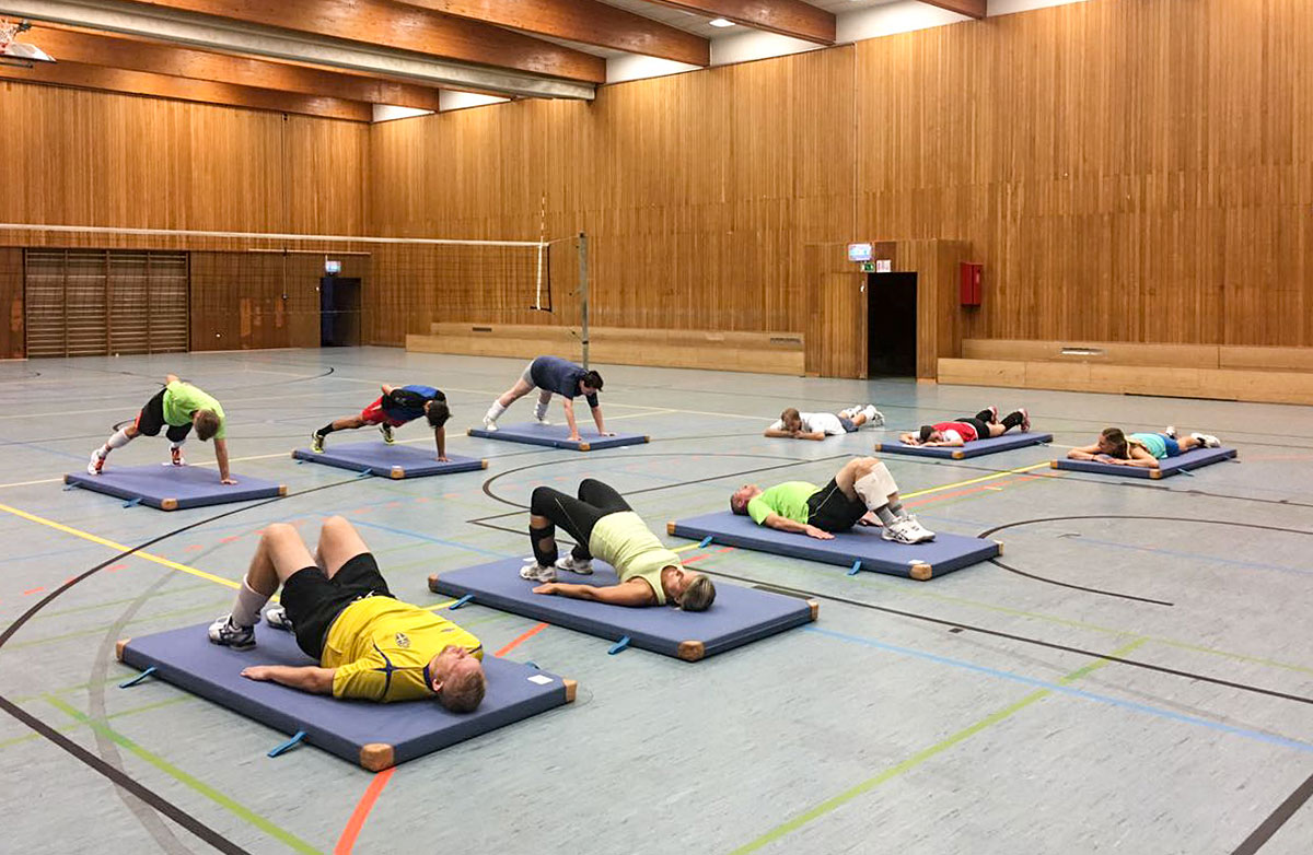 Trainingsauftakt bei den Volleyballern